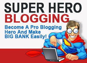 Super Hero Blogging